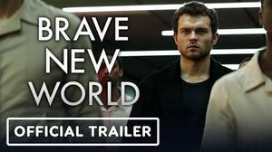 Brave New World Official Teaser Trailer (2020) Alden Ehrenreich, Demi Moore