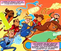 Courageous Battlers - Bravest Warriors 20