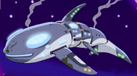 Damaged Space Whale
