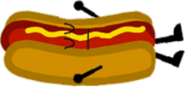 Sleeping Hot Dog