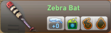 Zebra bat