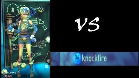 Nobalance VS Knockfire 1v1 Brawlbusters