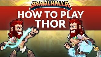 How to Play Thor - Brawlhalla Dev Stream Montage