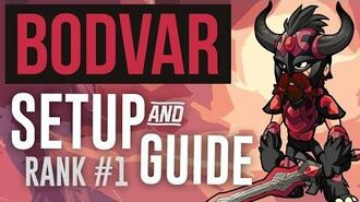 BODVAR SETUP & GUIDE - RANK 1 BRAWLHALLA PLAYER