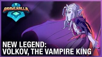 Brawlhalla New Legend Trailer – Volkov, The Vampire King Ubisoft NA-0
