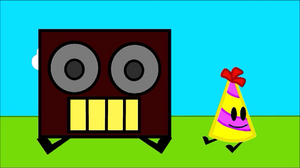 Boombox&partyhat