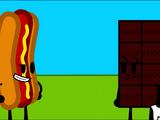 Hot Dog and Chocolatey