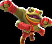 Character Thumb Frog