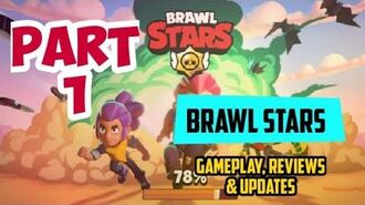 Brawl Stars Game App Gameplay Walkthrough Part 1 (Android iOS) Review & Updates