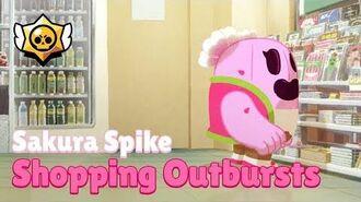 Brawl Stars Sakura Spike - Shopping Outbursts