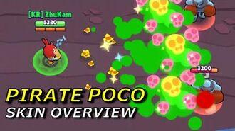 PIRATE POCO - Skin Overview Brawl Stars
