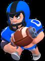Bull Skin-Linebacker