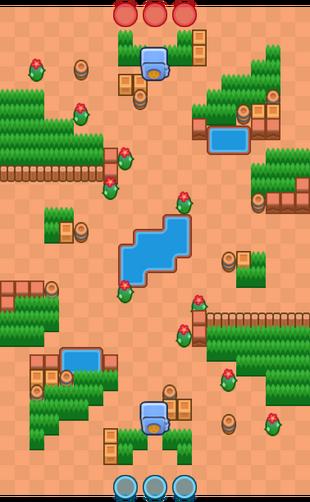 Cactus Corridor-Map