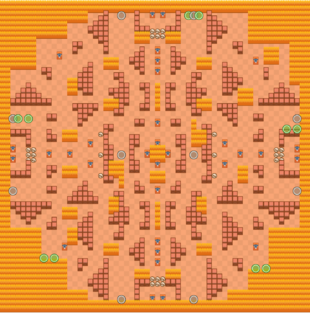 Rockwall Brawl-Map