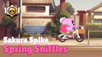 Brawl Stars Sakura Spike - Spring Sniffles