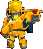 Bo Skin-Gold Mecha