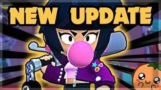 NEW BRAWLER Bibi - New Push-back Mechanic! - EVERYTHING IN THE UPDATE 🍊