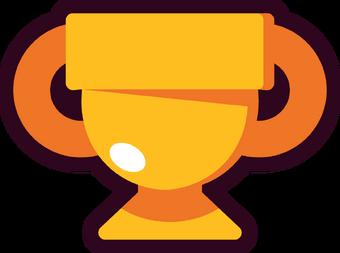 Resultado de imagen de trofeos brawl stars png