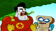 Super Duck vs Muscle Bread18
