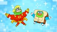 Super Duck vs Muscle Bread5