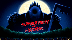 Slumber Party of Horror title card