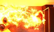 Dennis burned