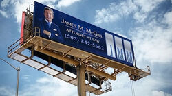 James McGill billboard