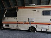 Motor home right side damage
