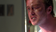 3x07 - Jesse angry with Walt