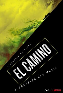 El Camino - A Breaking Bad Movie Promotional Poster