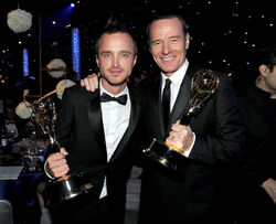 Emmys Aaron y Bryan