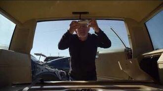 Mike searches the car for the tracking device - Better Call Saul 3x1