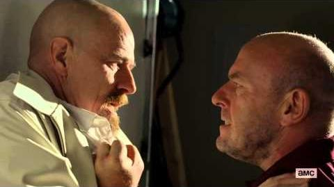 "Hank Punches Walter Breaking Bad S05E09 ""Blood Money"""