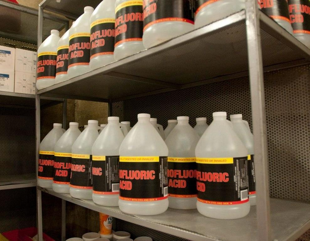 Hydrofluoric acid & Hydrofluoric acid | Breaking Bad Wiki | FANDOM powered by Wikia