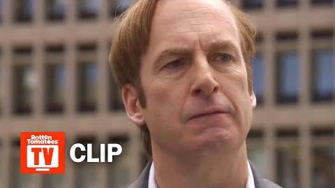 Better Call Saul S04E09 Clip 'Jimmy's Bad News' Rotten Tomatoes TV