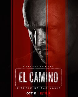 El Camino – A Breaking Bad Movie promotional poster 2
