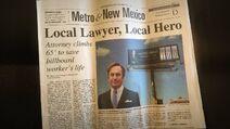 Hero newspaper