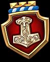 Emblem Mjollnir M