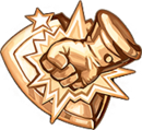 Shop shield bronze
