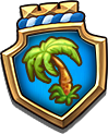 Emblem PalmTree M