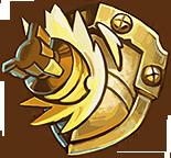 Shop shield gold
