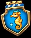 Emblem SeaHorse M