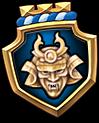 Emblem SamuraiHelmet M