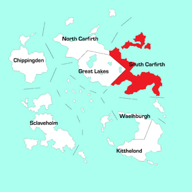 South Carfirth Region Map