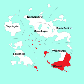 Kitthelond Region Map