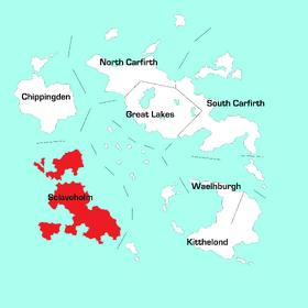 Sclaveholm Region Map