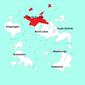 North Carfirth Region Map