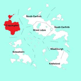 Chippingden Region Map