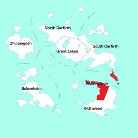 Waelhburgh Region Map