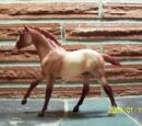 Action Stock Horse Foal (mold)